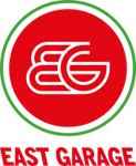 EAST GARAGE Retina Logo