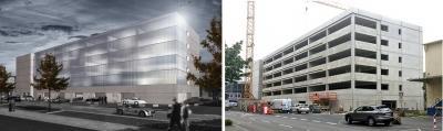 East-Garage-Baufortschritt